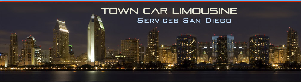 Limousine Services San Diego Image Intro - Photo San Diego at Night